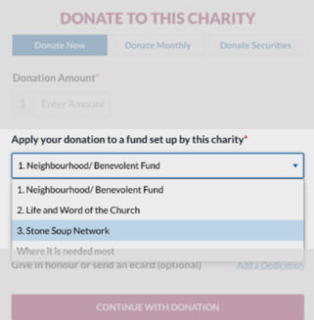 SSN Donate graphic